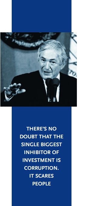 WOLFENSOHN with pull quote